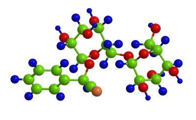 Molekulare Struktur Vitamin B17